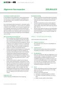Polisvoorwaarden en dienstenwijzer ZEKUR Auto - Page 5