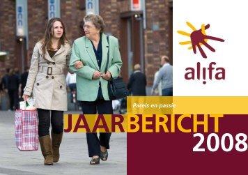 Jaarbericht 2008 - Alifa