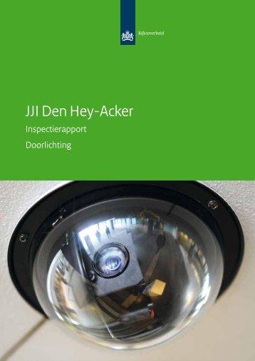JJI Den Hey-Acker - Inspectie jeugdzorg