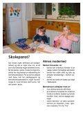 Overgang fra børnehave til skole på Sønderbro - Horsens Byskole - Page 6