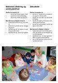 Overgang fra børnehave til skole på Sønderbro - Horsens Byskole - Page 7