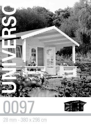 28 mm - 380 x 296 cm - Gartenhaus-wohnkultur.de