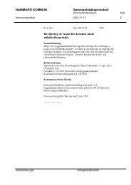 5. Revidering av taxan för ärenden inom miljöbalksområdet