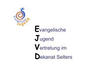 dazu in einer pdf-Datei - Evangelische Jugend im Dekanat Selters