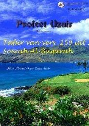Profeet Uzair alaihi salaam