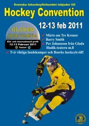 Hockey Convention 12-13 februari 2011 - Coaches Corner