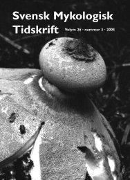 SMT 3-2005 - Sveriges Mykologiska Förening