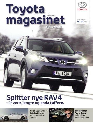 Toyota Magasinet vår 2013