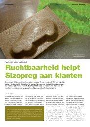 Sizopreg in Kunststof Magazine - S.I. Zwartz BV