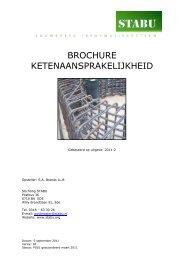 brochure: Ketenaansprakelijkheid - Stabu