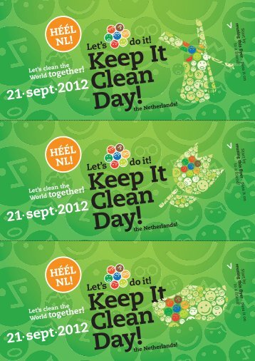 flyer 99×210 - Keep It Clean Day
