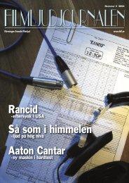 Filmljudjournalen nr 2, 2004 - Film Sound Sweden