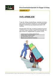 Faktablad om VVS - BAR Bygge & Anlæg