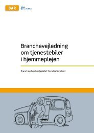 Hent Tjenestebiler i hjemmeplejen - Arbejdsmiljoweb.dk