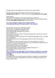 De tekst van dit interview kunt u hier - Johan Meijering