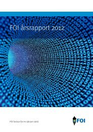 FOI årsrapport 2012
