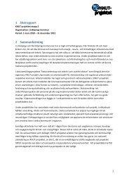 Slutrapport Östergötland inklusive bilagor (pdf ... - KNUT-projektet