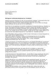 Borgerservice i fremtiden - Slagelse Kommune