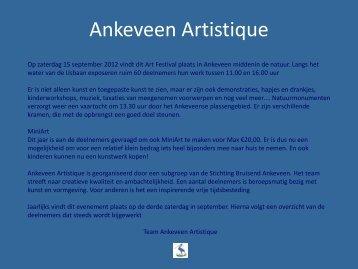 Ankeveen Artistique - Bruisend Ankeveen