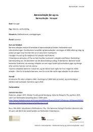 Børnearbejde - Vorupør - Danmarks nationalparker