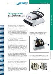 Reinigungsroboter Smart ACTIVE Cleaner - Behncke Gmbh