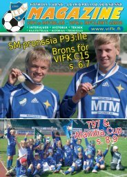 SM-pronssia P93:lle Brons för VIFK C15 T97 & Alandia Cup, s. 8-9 s ...