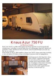 Knaus Azur 750 FU