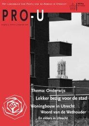 Lekker bezig voor de stad - PvdA Utrecht