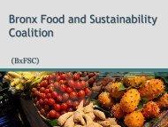 Bronx Food and Sustainability Coalition - Bronx Borough President ...