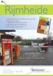 Nummer 180 • januari - februari 2011 - Gemeente Bonheiden