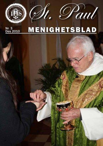 MENIGHETSBLAD - St. Paul Menighet - Den katolske kirke