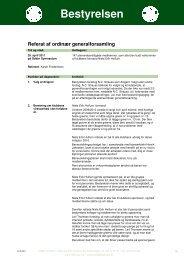 Generalforsamling 2011 - Odder Golfklub