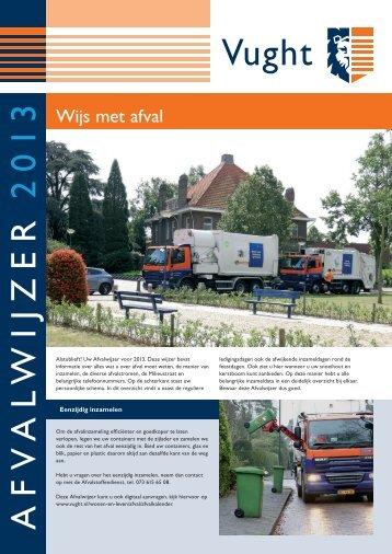 Afvalwijzer 2013 - Gemeente Vught