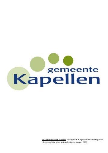 Verantwoordelijke uitgever - Gemeente Kapellen