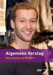 Download het jaarverslag 2010-2011 - CNV Dienstenbond