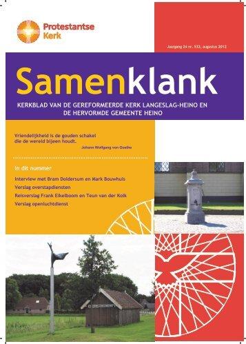 Samenklank Augustus 2012 - PKN Heino - Langeslag
