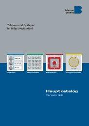 Hauptkatalog - Telecom Behnke