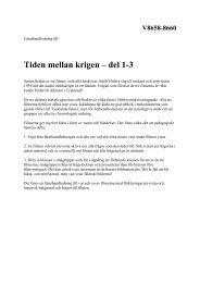 Lärarhandledning - Beta SLI.SE