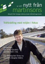 Läs tidningen, 0,3 Mb (pdf) - Martinsons
