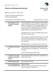 07.06.2012 Referat fra afdelingsbestyrelsesmøde - Boligforeningen 3B