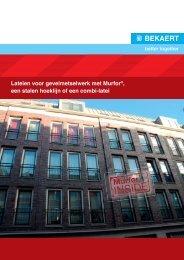 Murfor Lateien voor gevelmetselwerk_NL.indd - MADE Center
