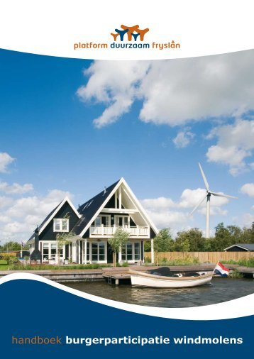 handboek burgerparticipatie windmolens - Organisatie voor ...