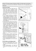 fuldelektronisk vaskemaskine brugervejledning - Hvidt & Frit - Page 6