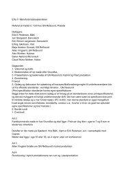 Erfa 7- Mikroforbindelsesteknikker Referat af mødet d. 13 ... - SPM Erfa
