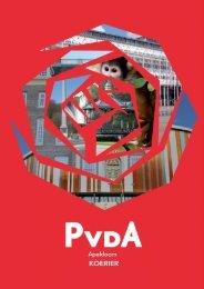 PvdA Apeldoorn Koerier nieuwsbrief april 2013