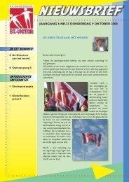 jaargang 6 nr.23 donderdag 9 oktober 2008 - St. Victorschool