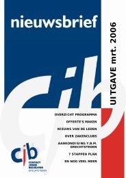 UITGAVE mrt. 2006 - Contact Jonge Bedrijven Drechtsteden