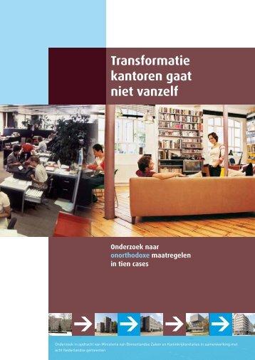 Transformatie kantoren gaat niet vanzelf - SBR