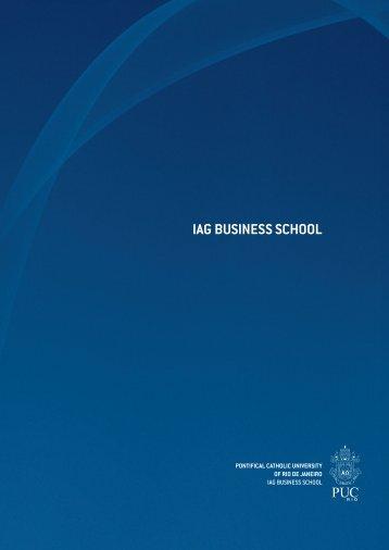 about iag business school - IAG - A Escola de Negocios da PUC-Rio