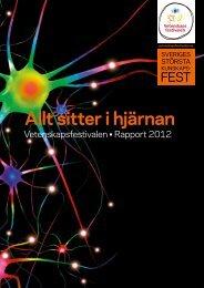 Läs rapporten för 2012 - Vetenskapsfestivalen